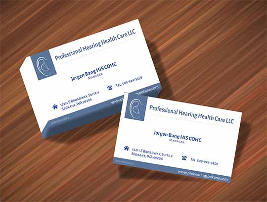 Precentation Business Card
